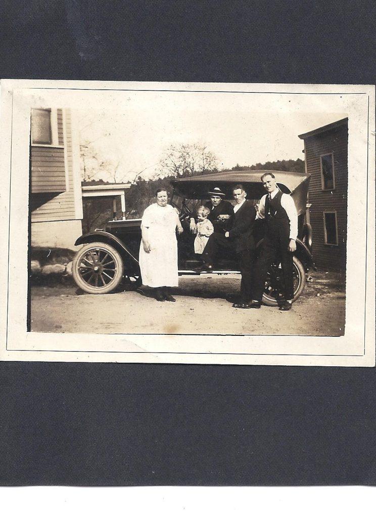 A family's automobile.